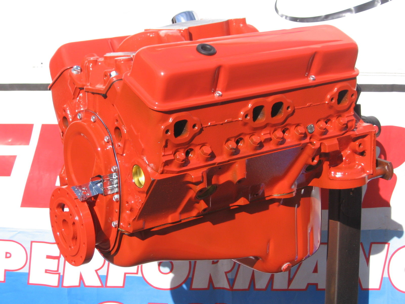 Chevy 283 / 280 HP High Performance Balanced Crate Engine ...