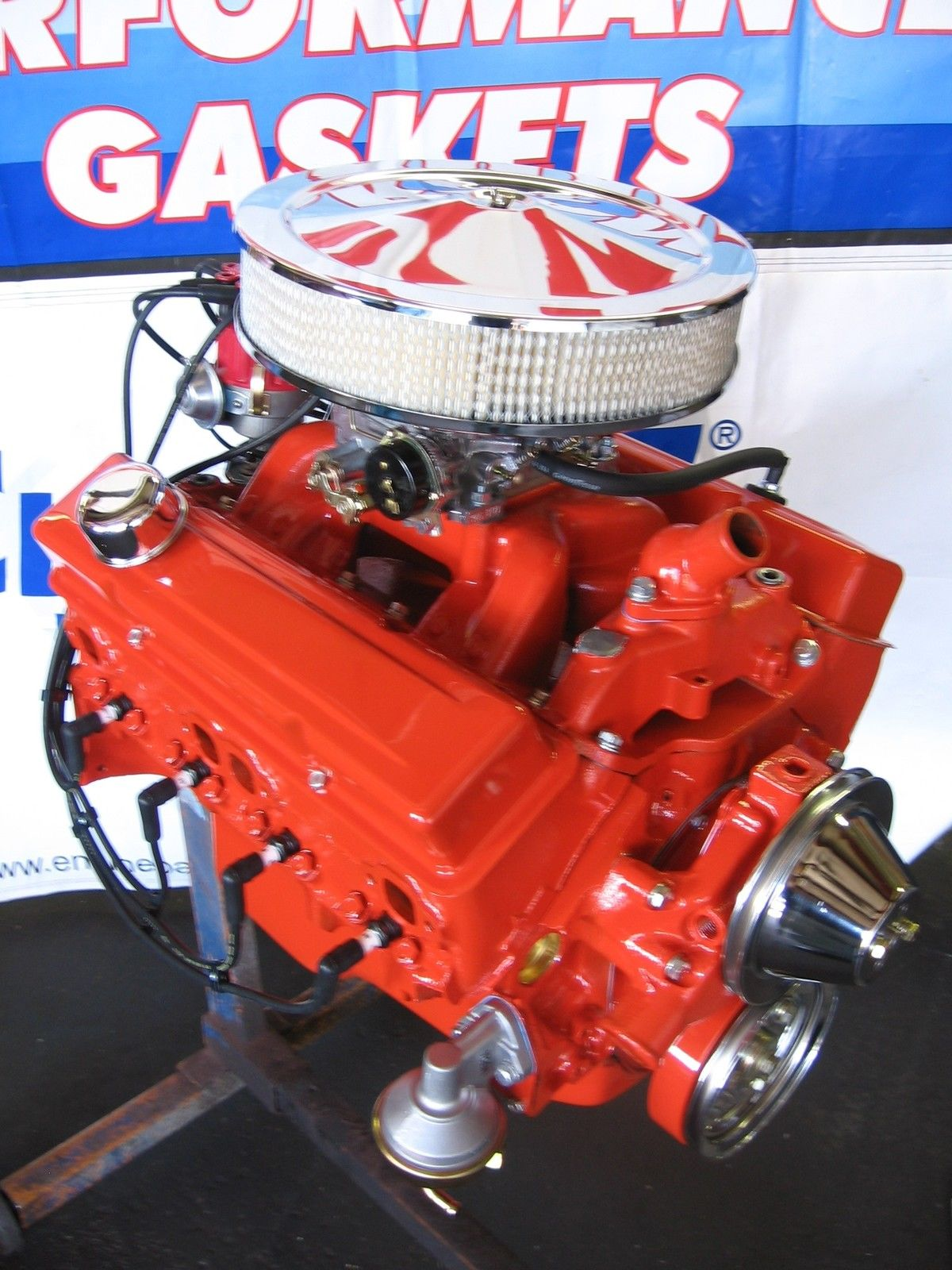 Chevy High Performance Crate Engine Side on Chevy Water Pump Replacement