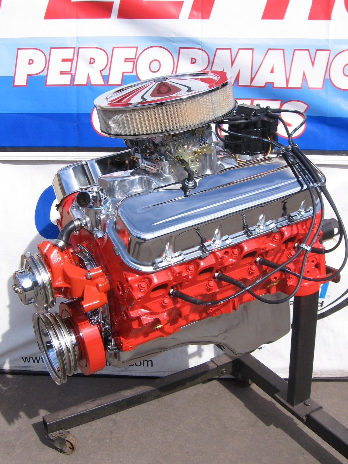Chevrolet 454 / 450 HP High Performance Turn-Key Crate Engine