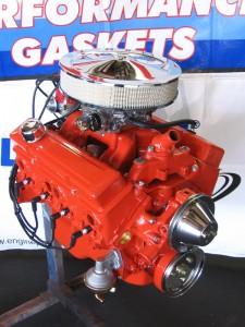 Chevy Orange Engine