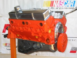 Chevy Orange Engine