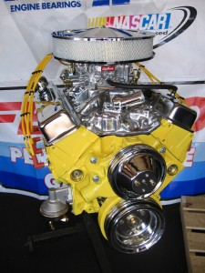 Daytona Yellow Engine
