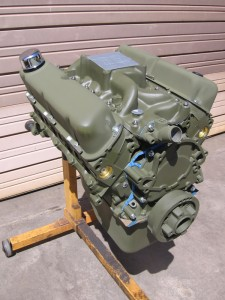 Olive Green Engine